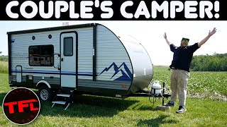 This Is the Best Camping Trailer for a Couple! It's Affordable Too! TFL Camper Corner by The Fast Lane Truck