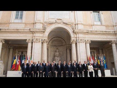 Οι «27» υπέγραψαν τη Διακήρυξη της Ρώμης για την «επανεκκίνηση» της Ε.Ε.
