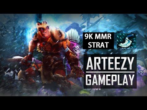 Arteezy Troll Warlord Gameplay