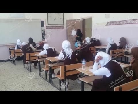 طلاب طبرق يدخلون إمتحانات النقل