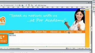 สอนทำเว็บ Dreamweaver CS3 บทที่ 3  ใช้งาน Templates