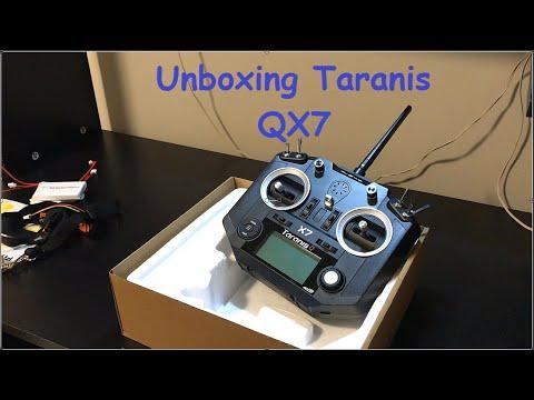 Unboxing Radio Taranis QX7 Frsky