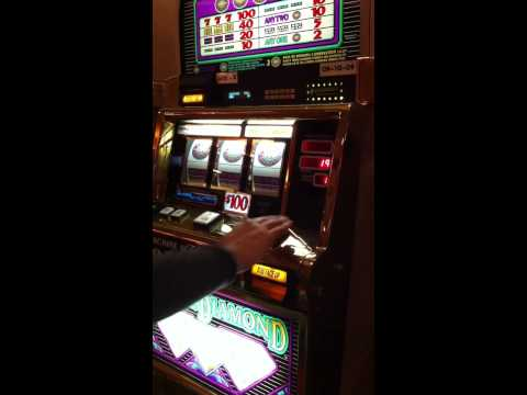 $100 Triple Diamond Slot Jackpot