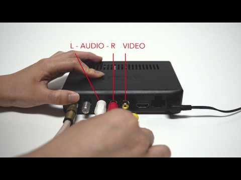 RCA | DTA880 Connection Instructions