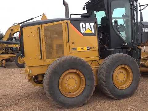 CATERPILLAR MOTORGRADER 140M equipment video gQ-DLWN3Ipg