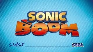 Sonic Boom Trailer мультика