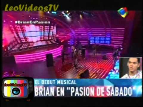 Brian canto en pasion de Sabado GH 2015 #GH2015 #GranHermano