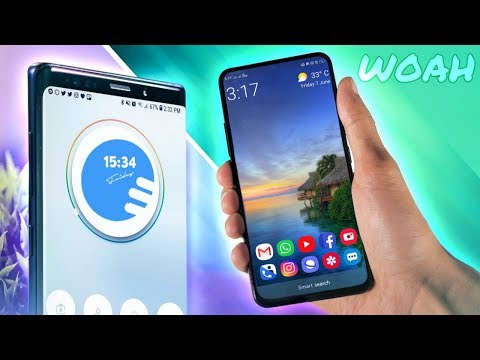 TOP 5 BEAUTIFUL Android LAUNCHERS 2019   BEST Android Launchers of 2019   Swanky Abhi