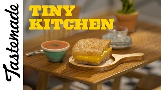 Tiny Grilled Cheese & Tomato Soup l Tiny Kitchen by Tastemade