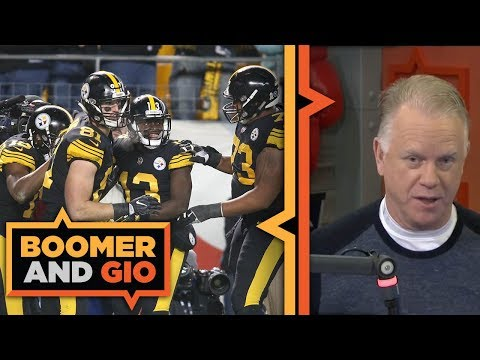 Video: Pittsburgh Steelers SCORE 52 points | Boomer and Gio