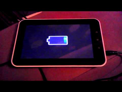 My tablet charging problem