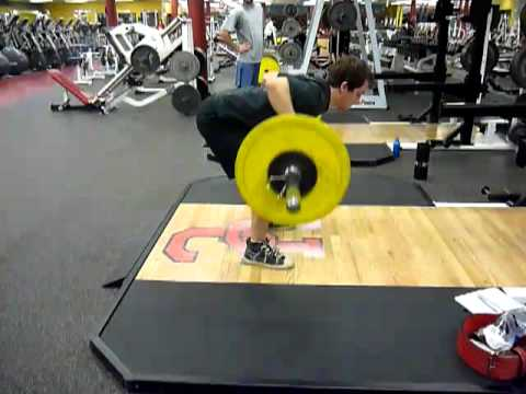 Barbell Row Technique