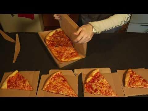 披薩外賣盒正確用法!真的現在才知道