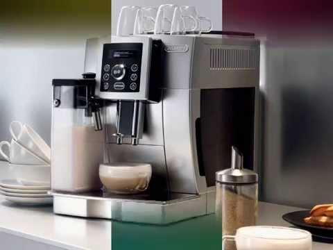 DeLonghi Compact Automatic Cappuccino Latte and Espresso Machine Silver Review