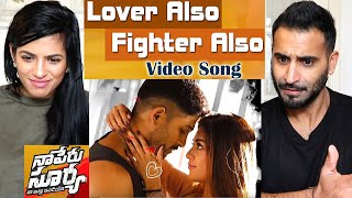 Video Lover Also Fighter Also Full Video Song | Naa Peru Surya Naa Illu India | Allu Arjun | REACTION!! download in MP3, 3GP, MP4, WEBM, AVI, FLV January 2017