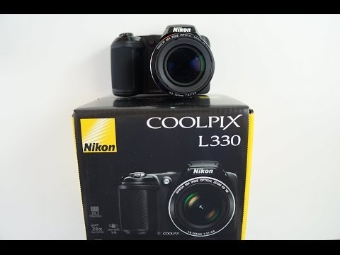 Nikon L330 UNBOXING and Hands On