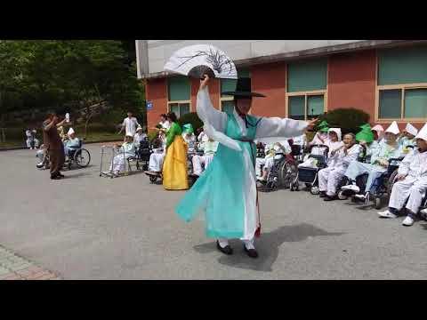 빛고을전통문화예술단-곡성군립 요양병원 위문공연