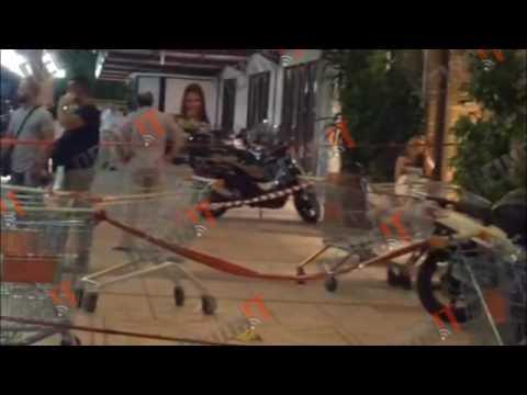 Video - Αιματηρή ληστεία σε σούπερ μάρκετ στην Αχαρνών
