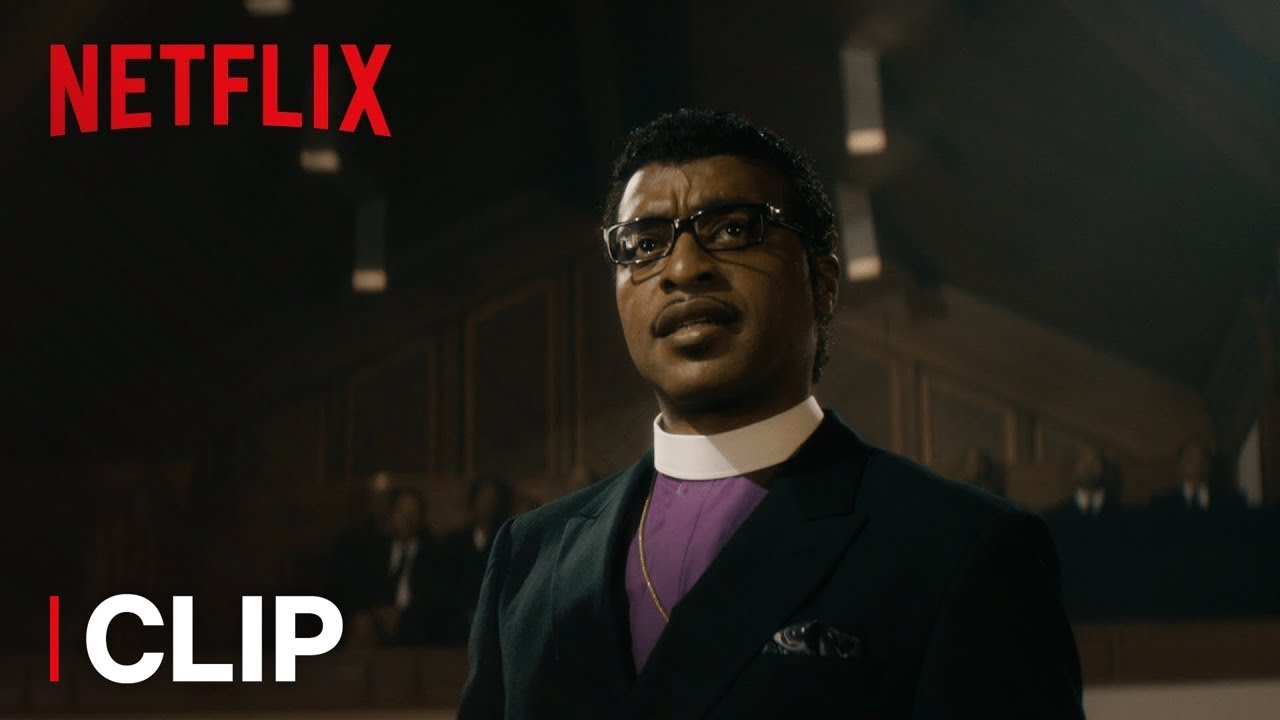 Chiwetel Ejiofor has a Crisis of Faith as Tarnished Pastor Carlton Pearson in 'Come Sunday' (Clip) with Martin Sheen & Danny Glover