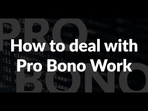 "Episode 049: How to deal with Pro Bono ""Free"" Work Podcast"