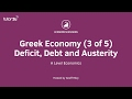 Deficit, Debt and Austerity