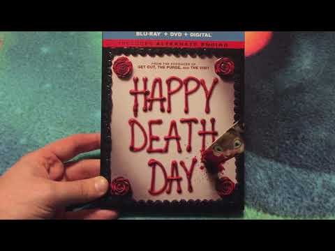 Happy Death Day (2017) Bluray Unboxing!