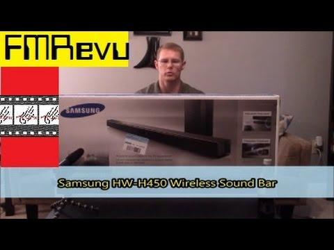 Samsung HW-H450 2.1 Surround Sound Test