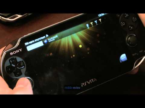 Sony PS Vita - дизайн, возможности, управляющие элементы