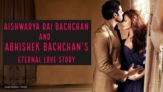 Bollywood's Romantic Chapters: Aishwarya Rai Bachchan and Abhishek Bachchan's eternal love story