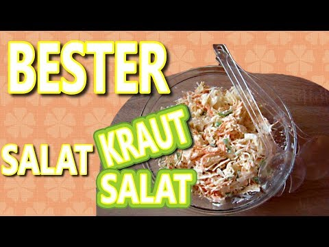 Krautsalat Rezept | Party Krautsalat | Krautsalat Rezept einfach |