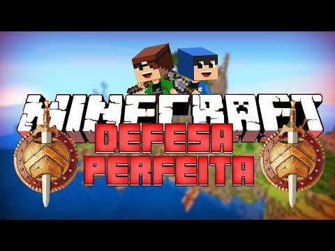 Minecraft: A DEFESA PERFEITA? (Mega Walls)