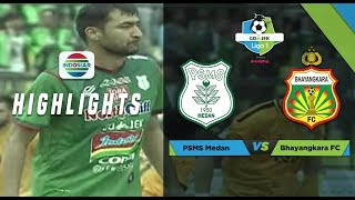 Video PSMS MEDAN (1) vs BHAYANGKARA FC (2) - Full Highlight  | Go-Jek LIGA 1 bersama Bukalapak MP3, 3GP, MP4, WEBM, AVI, FLV Juli 2018