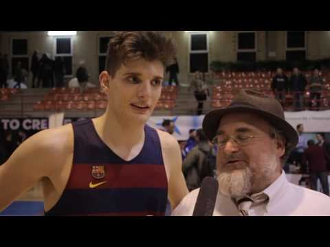 ANGT L'Hospitalet: Interview with Sergi Martinez, U18 FC Barcelona Lassa