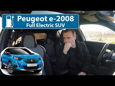 Peugeot e-2008 Full Electric SUV  - It's Electric & French!