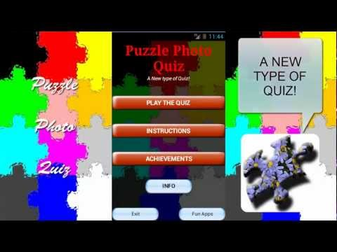 Video of Puzzle Photo Quiz