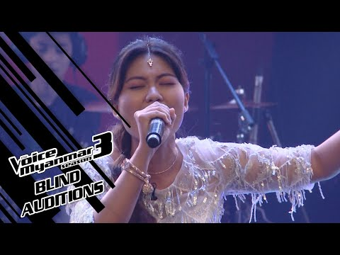 """Cho Wathan : """"Speechless"""" - Blind Auditions - The Voice Myanmar Season 3, 2020"""
