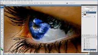 Фотошоп уроки — Как изменить цвет Глаз в фотошопе