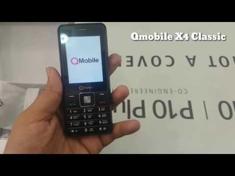 Qmobile X4 classic Unboxing