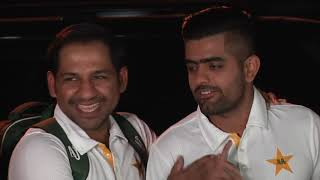 Exclusive!! Pakistan cricket team leaves for England  to play World Cup In a happy mood #CWC19