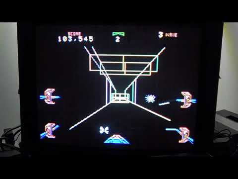 Classic Game Room - STAR WARS THE ARCADE GAME review for ColecoVision