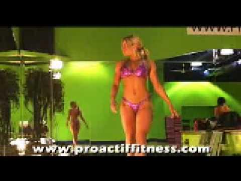 Compétition Fitness - Répétition défilé - Part I