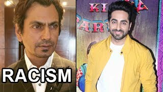 Watch Ayushmann Khurrana's REACTION On Nawazuddin Siddiqui's RACISM Tweet. Report By: Abhishek Halder. Edited By: Kamlesh KandpalSubscribe now and watch for more of Bollywood Entertainment Videos at http://www.youtube.com/subscription_center?add_user=bollywoodnowRegular Facebook Updates https://www.facebook.com/bollywoodnow.  Twitter Updates https://twitter.com/bollywoodnow  Follow us on Pinterest: https://pinterest.com/bollywoodnow  Follow us on Google+ : https://plus.google.com/+bollywoodnow