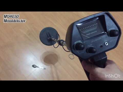 Md4030 metal detector Aliexpress 40€