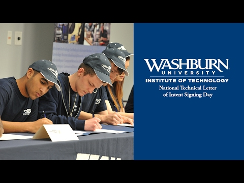 Washburn Tech National Technical Letter of Intent Signing Day 2017