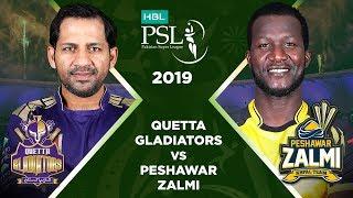 Match 3: Full Match Highlights Quetta Gladiators vs Peshawar Zalmi | HBL PSL 4 | 2019