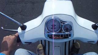 10. Vespa S50 2011 white  test drive for sale