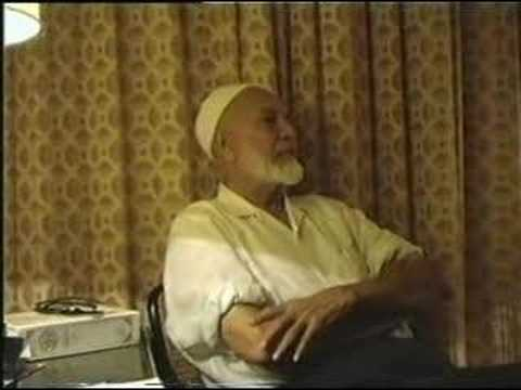Ahmed - Part (2/11): http://www.youtube.com/watch?v=qai6rm7Ra4c Deedat's Debate With American Soldiers - Sheikh Ahmed Deedat debates with the American soldiers of th...