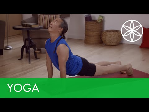 Flow Yoga For Beginners - Energy Flow | Yoga | Gaiam