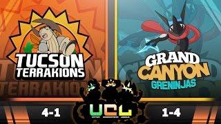 Pokémon ORAS LIVE Wi-Fi Battle [UCL S2W6] Tucson Terrakions vs Grand Canyon Greninjas by King Nappy