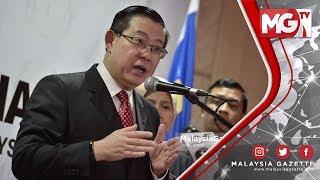 TERKINI : Projek TRX Tetap Akan Disiapkan - Lim Guan Eng